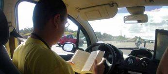 Demostrado, en el futuro se podrá 'conducir' y leer un libro a la vez
