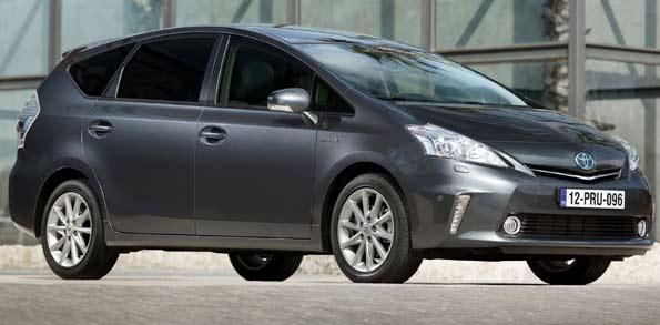 Toyota Prius de 7 plazas.