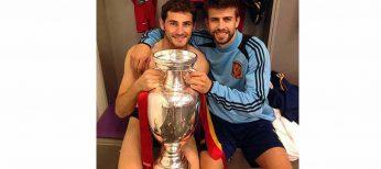 Casillas, Ramos y Piqué son los futbolistas más auténticos de La Roja en Facebook y Twitter
