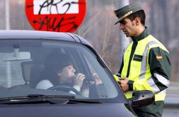 Control de drogas de la Guardia Civil.