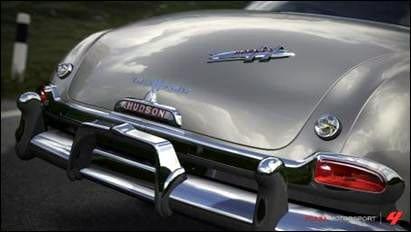 Parte trasera de un Hudson Hornet.