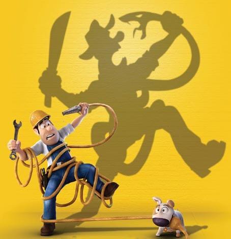 Personaje de película de animación Tadeojones.
