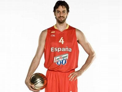 El jugador de baloncesto español Pau Gasol.