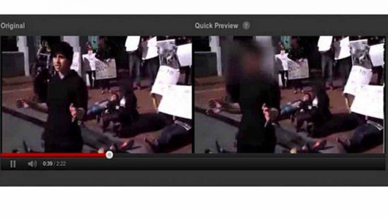YouTube ya permite difuminar las caras de quienes aparecen en los videos