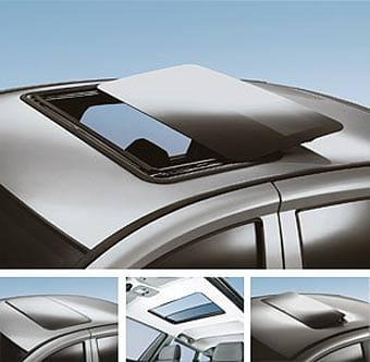 Techo solar de un coche.