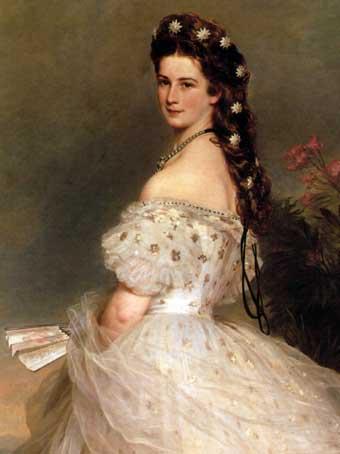 Sissí, emperatriz mítica de Viena.