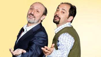 Antonio Recio y Juan Cuesta, típicos presidentes de comunidad de una célebre serie de televisión.