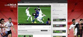 YouTube y Mediapro ofrecen online lo mejor de cada jornada de fútbol de la Liga BBVA