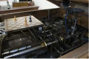Segunda máquina de Leonardo Torres Quevedo, inventor de 'El Ajedrecista', que permitía jugar a un humano contra una máquina.