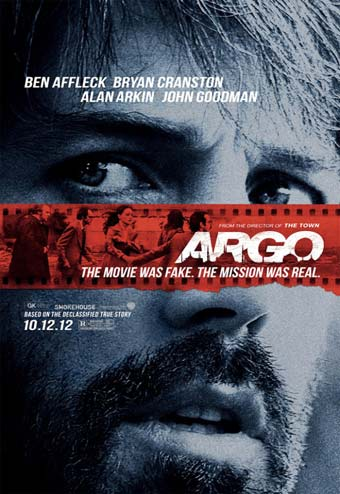 Cartel de 'Argo', película protagonizada y dirigida por Ben Affleck.