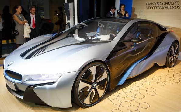El BMW i8, el concept del futuro de BMW.