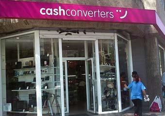 Tienda de compra venta de productos de segunda mano Cash Converters en Madrid.