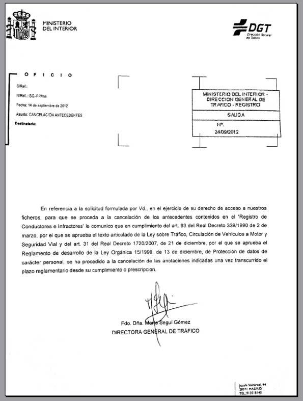 AEA respuesta a recurso de solicitud de anulación de multa.