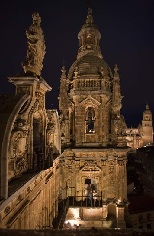 Vista desde lo alto de la torre de la Catedral de Salamanca.