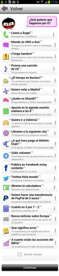 Funcionalidades de Sherpa, la nueva app para Android gratuita que permite manejar y preguntar al teléfono con controles de voz.