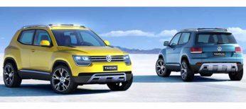 Taigun, no Tiguan, es el nuevo prototipo de Volkswagen para su próximo SUV compacto