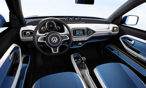 Interior del Taigun, el prototipo SUV compacto de Volkswagen.