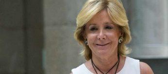 Fecha en la que Esperanza Aguirre se retiró de la primera línea de la política