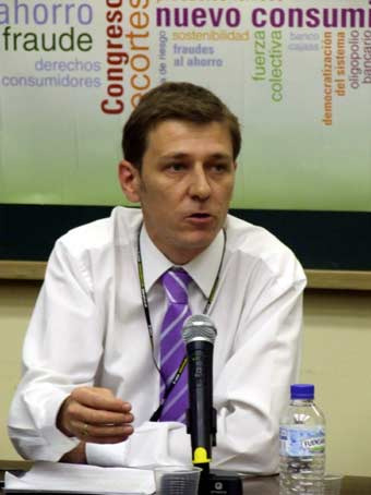 Fernando Herrero, portavoz de ADICAE.