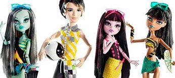 Monster High, Playmobil y tabletas, los juguetes preferidos por los niños estas Navidades