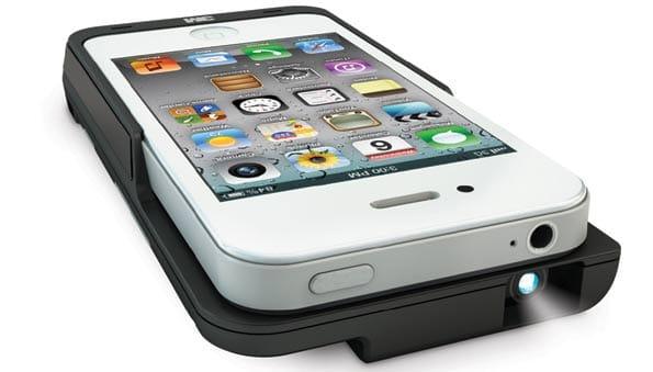 Carcasa proyector para el iPhone.