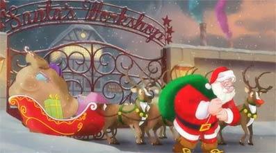 Santa Claus se queda en el paro en una campaña de Lee Hecht Harrison.