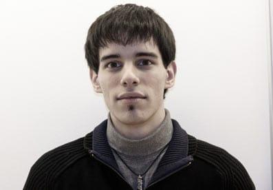 El joven emprendedor Guillem Cuberes, de Groupiest.