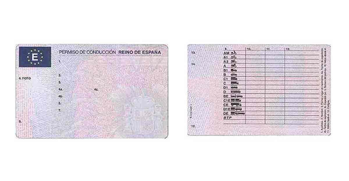 Nuevo examen teórico y práctico para sacarse el carné de conducir y también nuevo permiso europeo