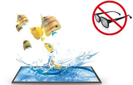 Los televisores del futuro no necesitarán gafas para ver las películas en 3D.