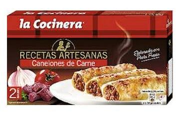 Los canelones de La Cocinera con carne de caballo.