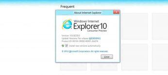 El nuevo Internet Explorer 10 para Windows 7 es un 20 por ciento más rápido que IE9