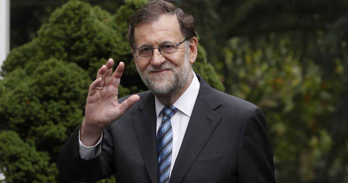 El presidente del Gobierno, Mariano Rajoy, en un momento del debate del estado de la nación.