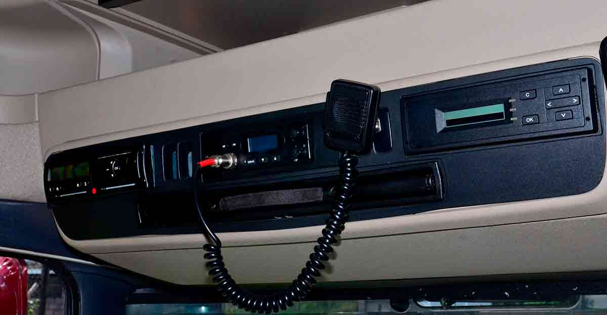 Exceso de horas al volante y el tacógrafo, las denuncias a camiones y furgonetas