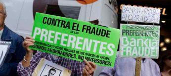 Bankia con sus desahucios y preferentes desbancan a Movistar como la peor empresa del año