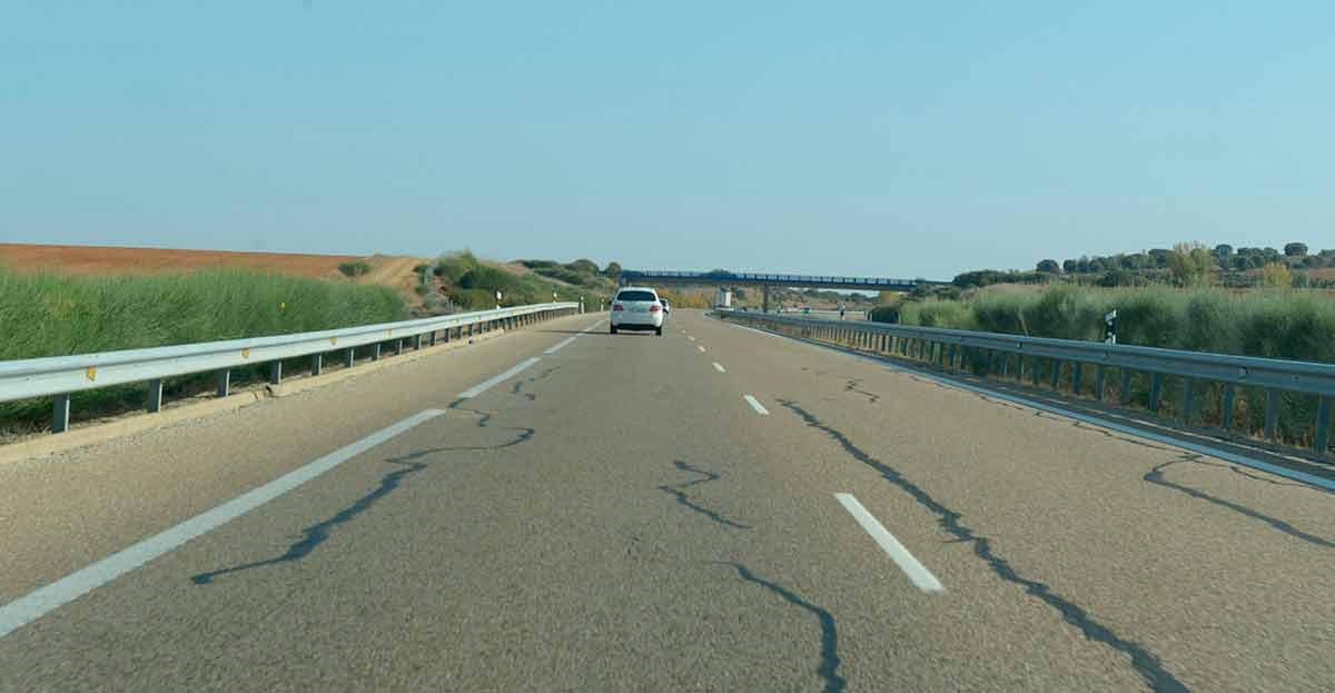 Los tramos de carretera 'blancos' sin accidentes se duplican en 10 años