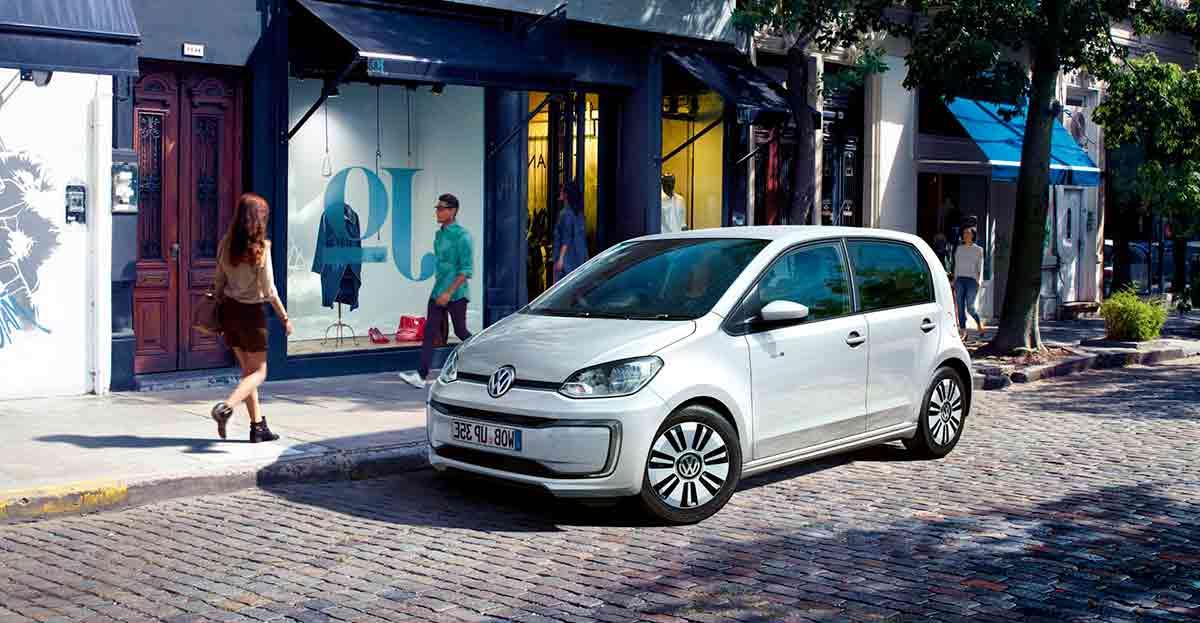El e-up! es el primer Volkswagen completamente eléctrico