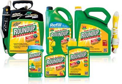 El herbicida 'benigno' RoundUp es tóxico según estudios realizados en Francia.