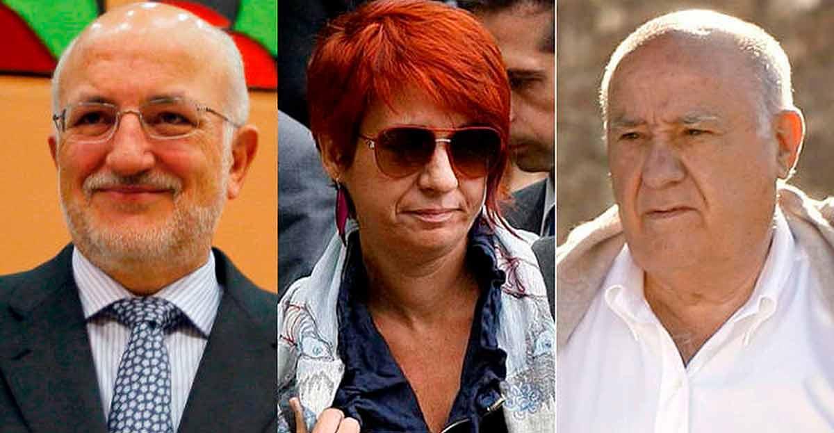 Amancio Ortega (Zara), Botín (Santander) y Juan Roig (Mercadona) son los empresarios más influyentes