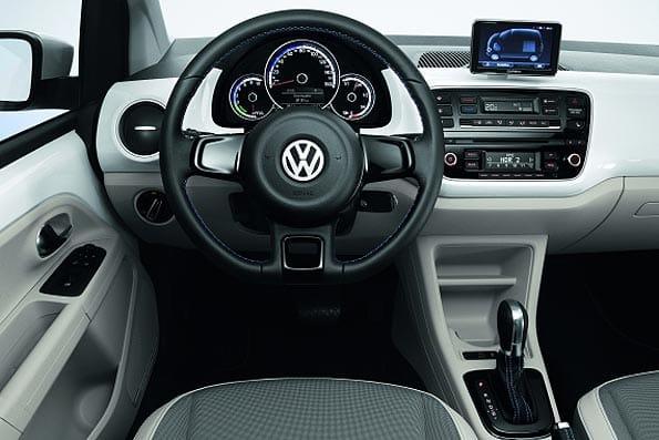 Interior del eléctrico Volkswagen e-up!