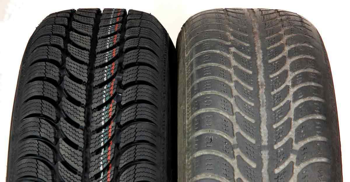 Casi la mitad de los coches circula con neumáticos caducados