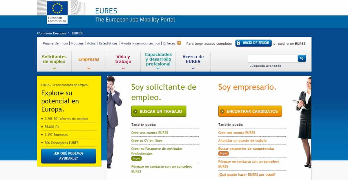 Europa ofrece 1.400.000 empleos a jóvenes a través del programa EURES