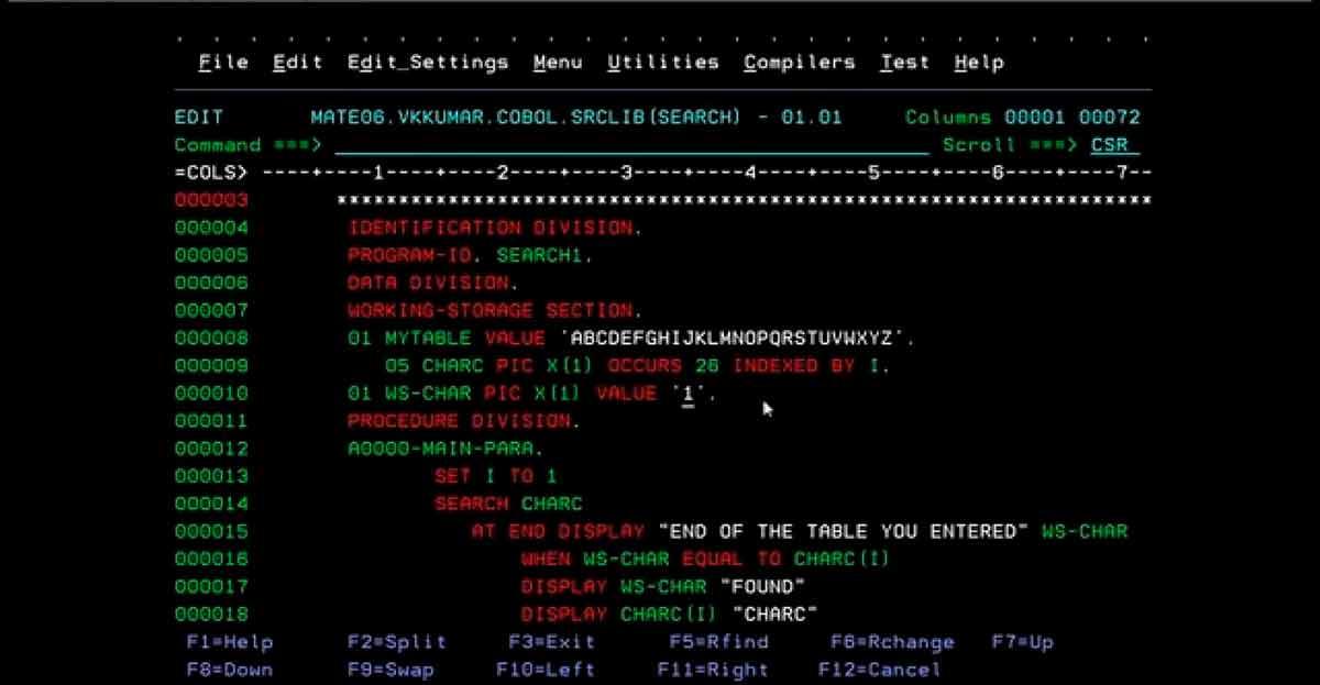 Las empresas piden programadores COBOL, pero tres de cada cuatro estudiantes de informática no tiene acceso a formarse