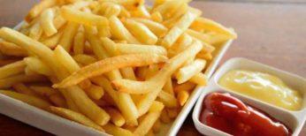 Ser adicto a las patatas fritas