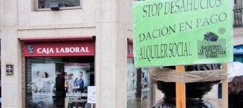 Nadie abandonará su vivienda en Burgos por desahucio sin que antes un juez haya examinado las cláusulas de la hipoteca