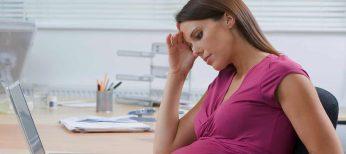Estrés laboral durante el embarazo provoca problemas de obesidad al hijo en la edad adulta