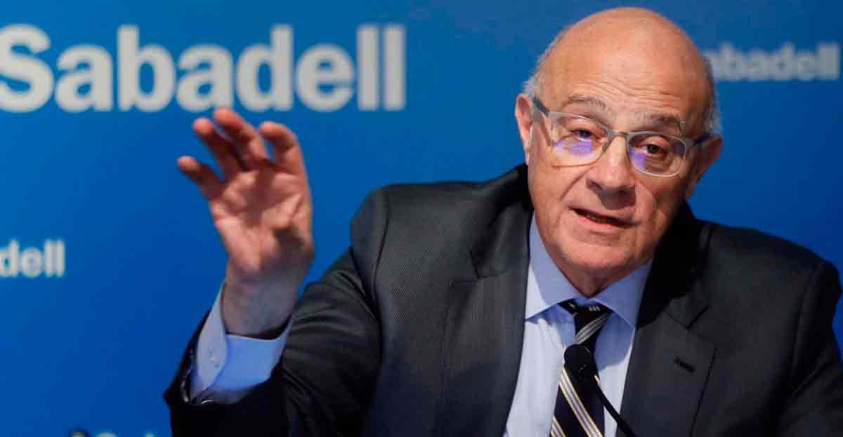 Josep Oliu (Banc Sabadell) 'El crédito seguirá bajando en 2013, en 2014 e incluso hasta 2015'