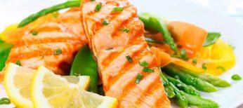 Pescado y verduras ante la menopausia