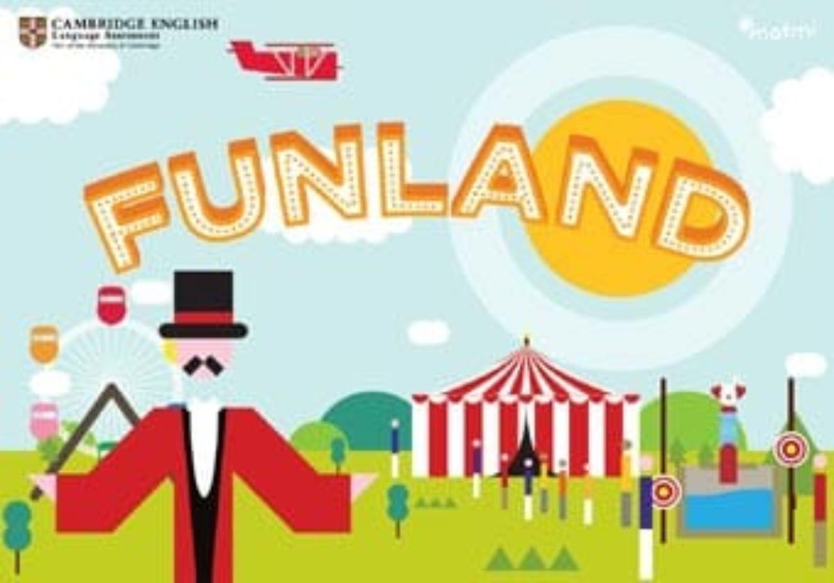 Funland, una app para que los niños aprendan inglés.