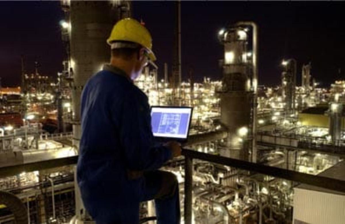 Industria de BASF en Ludwigshafen, en Alemania.