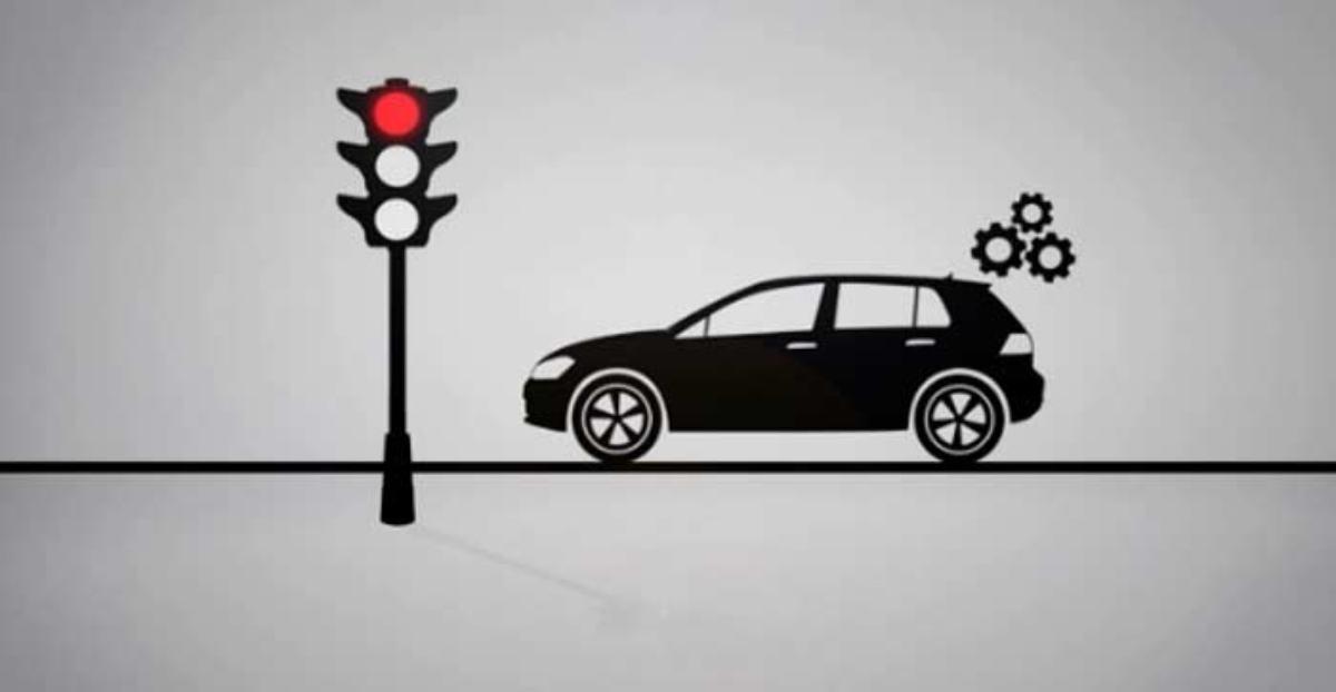 Los coches se pararán solos cuando lleguen a un semáforo rojo